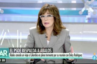 Ana Rosa Quintana planta cara a los ministros de Sánchez por su cierre de filas en torno al 'escándalo Ábalos'