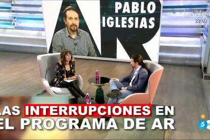 Ana Rosa Quintana, en la mira de la pataleta comunista por interrumpir más a Iglesias que a Abascal
