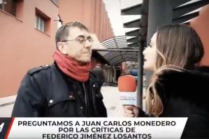 Un corroído Monedero recicla su vomito 'progre' contra Losantos