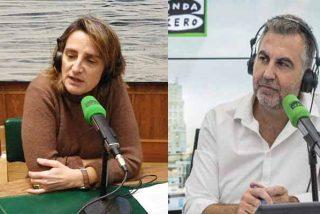 """Alsina hace 'estallar' de los nervios a la vicepresidenta Ribera: """"Es usted quien no quiere hablar de Ábalos"""""""