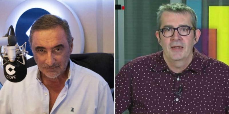 """Carlos Herrera y Max Pradera, tremenda pelea: """"Maximito, eres tonto desde que naciste"""""""