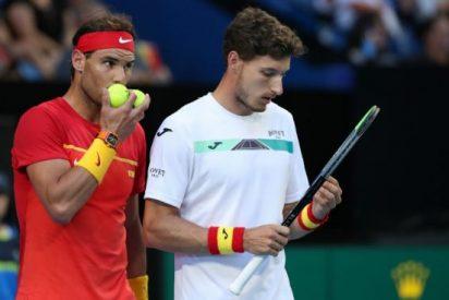 Rafa Nadal tropieza pero España pasa a las semifinales de la ATP Cup