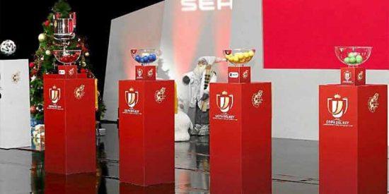 Sorteo Copa del Rey: Unionistas - Real Madrid e Ibiza - Barcelona son los platos fuertes