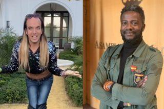 Bertrand Ndongo, el 'negro de VOX', se mofa de la felicitación de Año Nuevo de Aless Gibaja