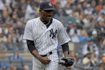 Sancionan con 81 partidos a la estrella de los Yankees por agredir a su pareja