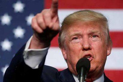 """Donald Trump califica de """"cabrones idiotas"""" a los de la CNN"""