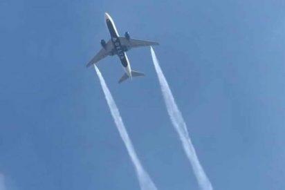 EEUU: Avión arroja combustible sobre escuelas para evitar estrellarse