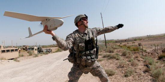 Los militares crean un láser para inutilizar drones en pleno vuelo