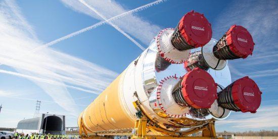 El SLS, el gigantesco cohete con el que la NASA volverá a llevar seres humanos a la Luna