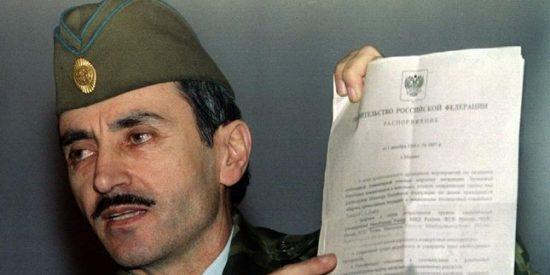 Dzhojar Dudáyev: pasión y muerte del general checheno (XLXVIX)