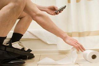 Teléfono Móvil: ¿Sabias que debes que desinfectar la pantalla tras ir al baño?