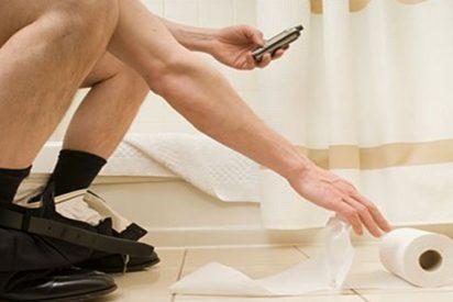Teléfono Móvil: ¿Sabías que debes desinfectar la pantalla tras ir al baño?