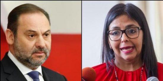 Exclusiva / Ábalos no fue a recibir a un amigo sino a evitar la detención de Delcy Rodríguez
