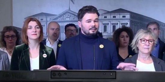 Gabriel Rufián: el tantarantán del bocazas de ERC que le ha hecho gracia hasta a la madre que lo parió