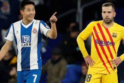 """El """"temblor chino"""" y la resaca blaugrana marcan la derrota moral del Barcelona en el derbi catalán"""