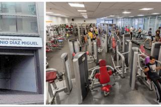 Los usuarios del madrileño polideportivo Antonio Díaz Miguel estallan ante el mal estado de las máquinas de fitness