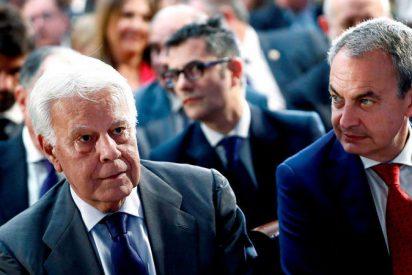 Felipe González da la cara por Juan Guaidó y deja en ridículo al 'chavista' Zapatero