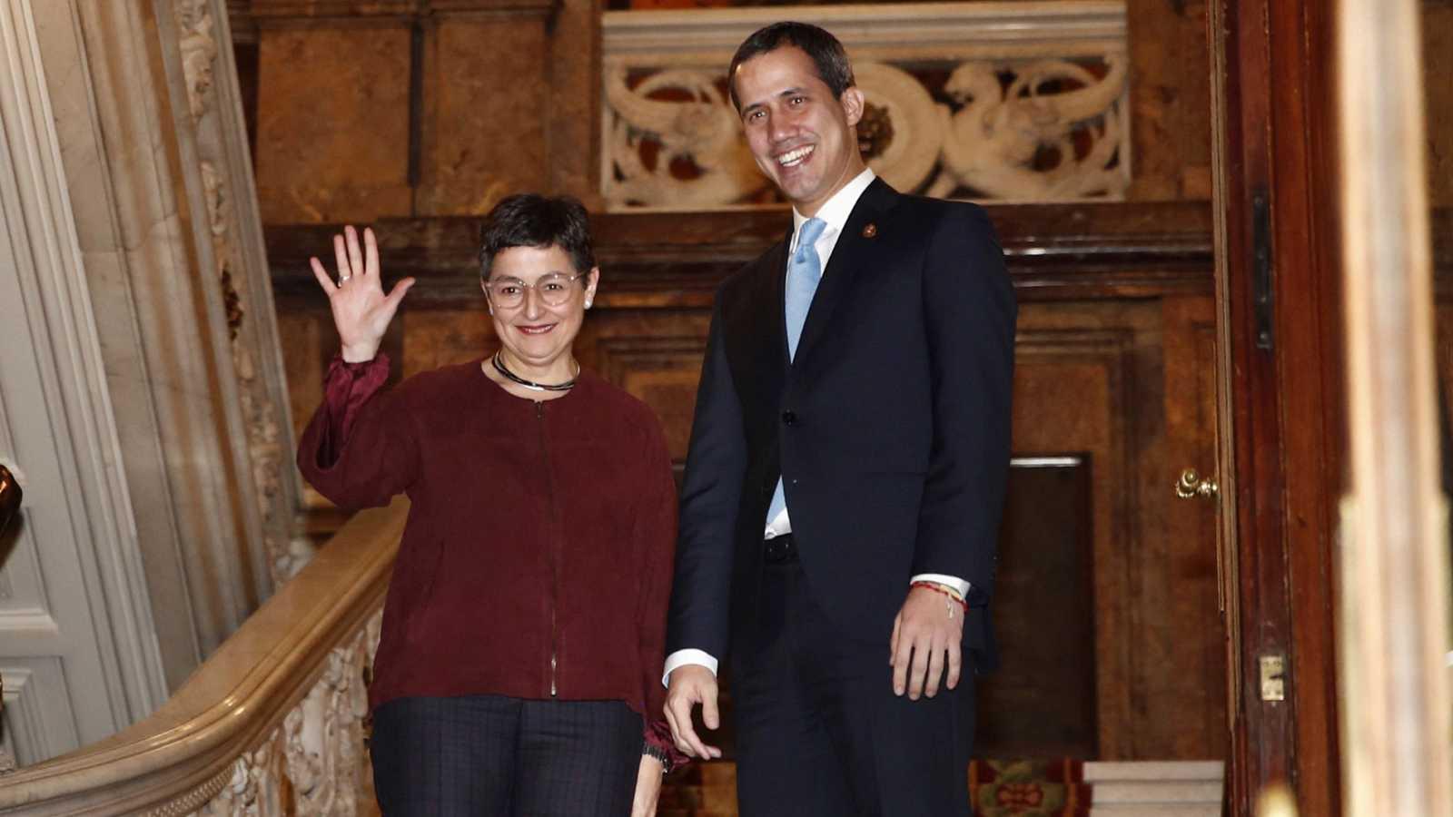 Exclusiva: Qué dijo la ministra de Exteriores a Guaidó sobre la polémica visita de Delcy Rodríguez