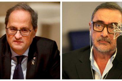 Carlos Herrera despide al xenófobo Torra: