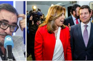 """Carlos Herrera espabila a los """"cobardemente narcotizados"""" del PSOE por permitir a Sánchez compadrear con los golpistas"""