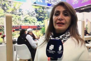 """Veronica Rueda: """"En Ecuador somos cuatro mundos y es lo mejor que puedes tener para tus vacaciones"""""""