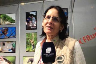 """Pamela Bucur: """"Estamos en medio de la selva de Perú con todo el confort de un hotel cinco estrellas"""""""