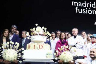 Almudena Maíllo asiste a la inauguración de la XVIII edición de Madrid Fusión