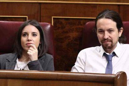 Podemos, la 'morada del amor': Pablo Iglesias e Irene Montero encabezan la docena de parejas que cobran del partido