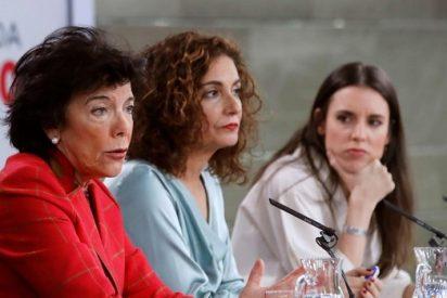 Según el Gobierno Sánchez y la directora que quiere penetrar analmente a los hombres españoles,
