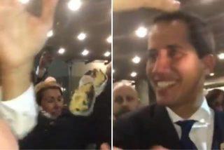 El tortazo que le pegaron a Juan Guaidó en el Parlamento Europeo