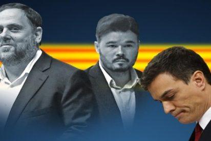 El socialista Sánchez se pone a las órdenes del independentista Rufián y el PSOE baila al son de ERC