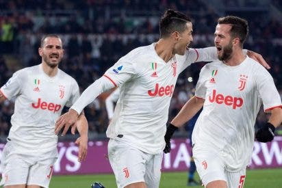 La Juventus asalta el liderato de la liga tras una temprana victoria a la Roma