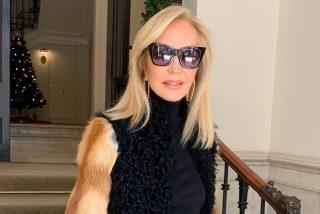 Carmen Lomana arma la mundial con su último comentario y un abrigo de piel natural