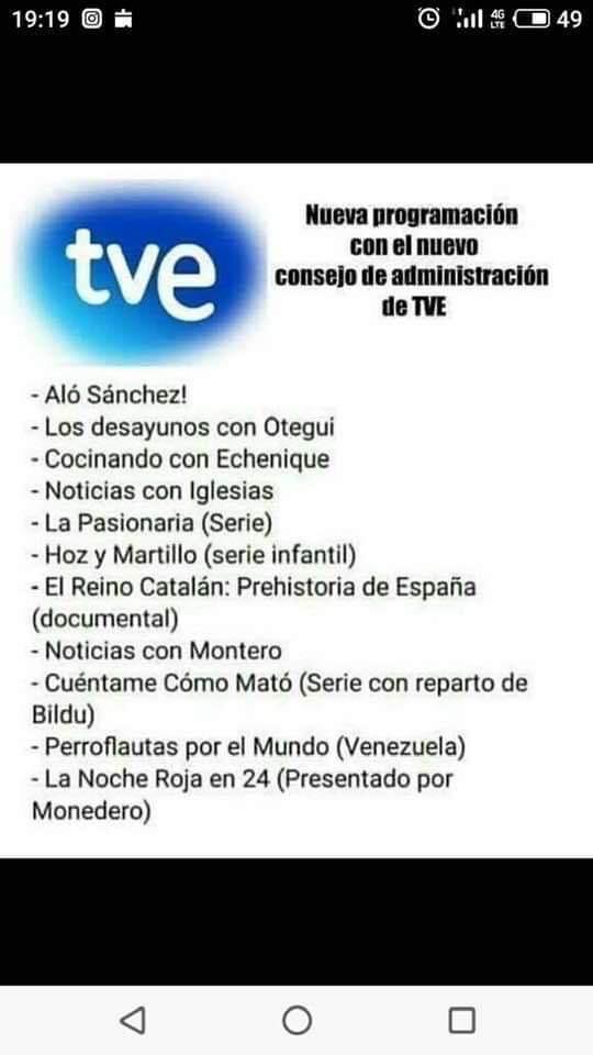 """""""La televisión pública en España: De escándalo en escándalo y sólo para dividir. ¿Hasta cuándo ese escarnio?"""""""
