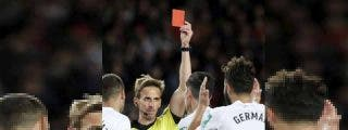 El árbitro que expulsó al jugador del Granada siguió la instrucción de Rakitic