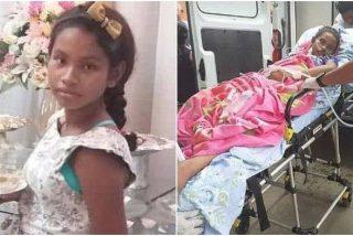 Adolescente violada por su padre murió durante un difícil parto