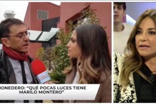 """Juan Carlos Monedero vomita odio contra Mariló Montero: """"No tiene luces, debería leer más y apagar la televisión"""""""