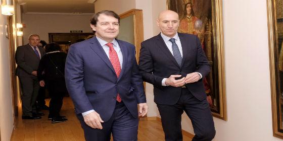 Mañueco apuesta por la colaboración con el Gobierno central