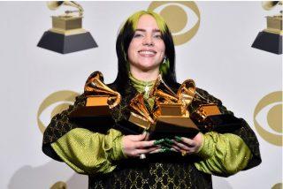 Mejores maquillajes Grammys 2020 - Billie Eilish