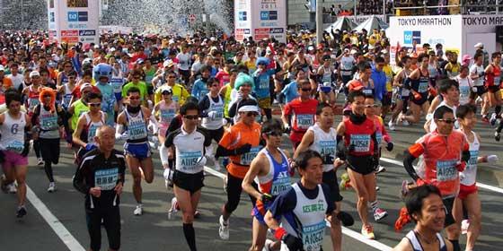 Todo lo que debes saber si vas a correr en la Maratón de Tokio