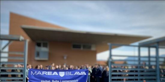 """Marea Blava Prisiones: """"Concentración de protesta en las puertas del C.P. Brians 1"""