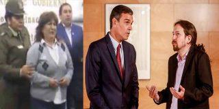 Tiemblan Podemos y el Gobierno de coalición: atrapan a la secretaria del exministro boliviano Juan Ramón Quintana