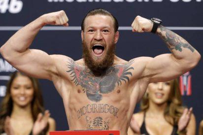 UFC: Brutal retorno de McGregor que derrota a 'Cowboy' Cerrone en menos de un minuto