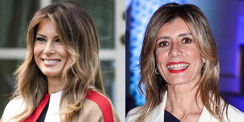 Melania Trump deja en ridículo a Begoña y a Pedro Sánchez con un mensaje desde Miami