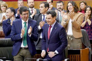 """Moreno indignado con Sánchez: """"Andalucía no pagará la factura de los acuerdos entre Sánchez y Torra"""""""