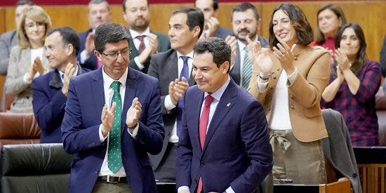 Moreno Bonillla pide estabilidad y confianza en el Gobierno andaluz