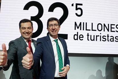 Andalucía logra el mejor dato turístico histórico con 32,5 millones en 2019