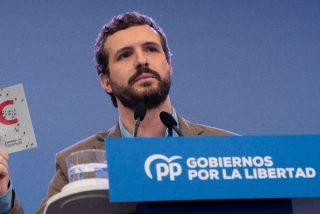 """Pablo Casado: """"Ningún comunista va a decirnos cómo educar a nuestros hijos"""""""