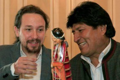 Pablo Iglesias, el de los azotes a Mariló, debe explicar los millones que Evo Morales dio a la consultora de Podemos
