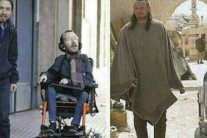 Duras críticas a Iglesias y Pedrojota por burlarse de la discapacidad de Echenique